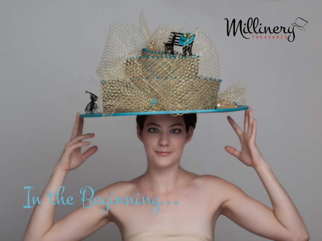 Wedding Cake Inspired Outrageous Hats Millinery Treasures