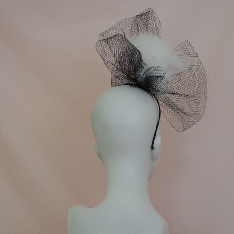 black glamorous headband